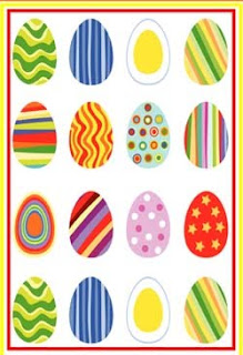 Easter Cards - Easter Eggs