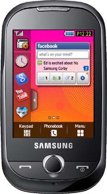 spesifikasi harga Samsung Corby S3650