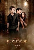 cover twilight, new moon, vampire, bella fuck edward, new moon poster, jacob kiss bella