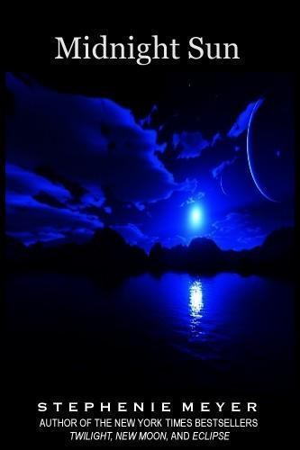 cover midnight sun, new novel twilight, edward