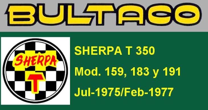 """BULTACO SHERPA T  350  """"MANUEL SOLER"""""""