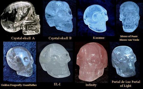 Выяснилось, что череп изготовлен из цельного кристалла хрусталя.  Этот материал очень прочен - его ничем...