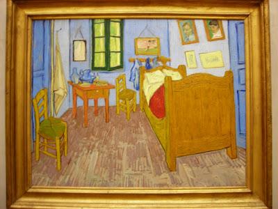 Officina in trasformazione al museo con vincent van gogh - La camera da letto van gogh ...