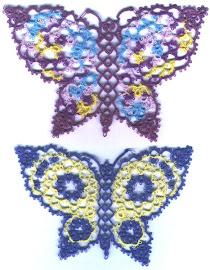 Vintage Butterfly pattern