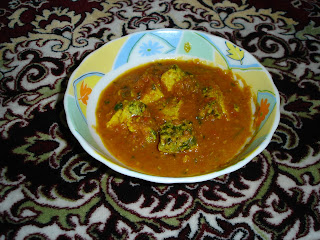 Dim-er Dhoka with Gravy