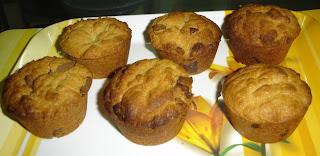 Peanut Flavoured Chocochip Muffins