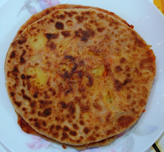 Carrot Paratha