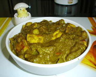 Hariyali Mango Paneer