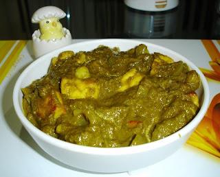 हरियाली मेन्गो पनीर