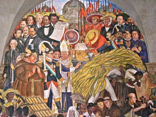 Jim carole 39 s mexico adventure diego rivera mexico 39 s for Diego rivera lenin mural