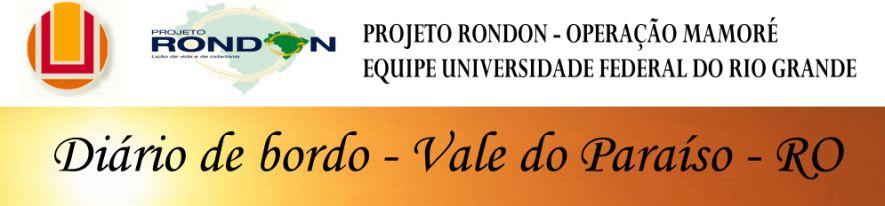Equipe FURG - Projeto Rondon Operação Mamoré 2010