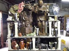 二宮尊徳の陶像