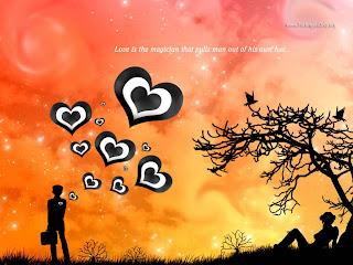 Love Feelings Wallpaper
