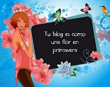 Este blogs es como una flor en primavera