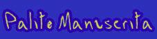 palito manuscrita