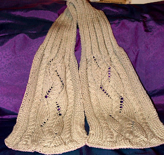 Stylecraft 8049 Ladies Scarf, Hat, & Mittens knitting pattern