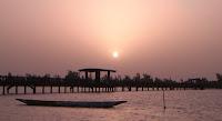 Puesta de sol en Fadiouth, Senegal