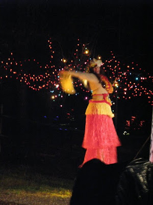 hula on stilts
