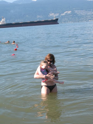 first time in the ocean