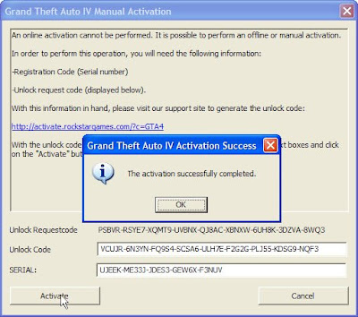 grand theft auto 4 activation key