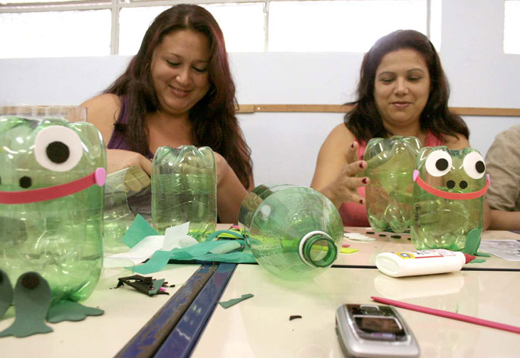 Brinquedos Pedag  Gicos Recicl  Veis Infantis