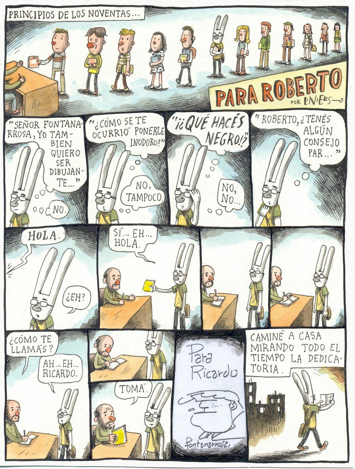 Caricaturista argentino