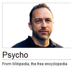 wikipedia problem