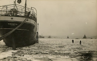 bosporus blocked by glaciers in winter of 1929