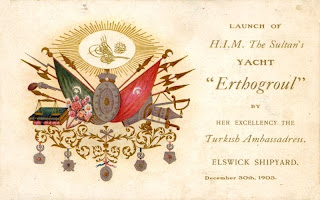 invitation to Ertugrul yacht