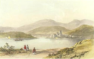 engraving of Bodrum by Walter Bourchier Devereux
