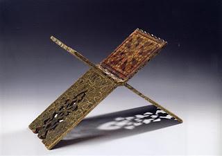 19c iranian reading desk