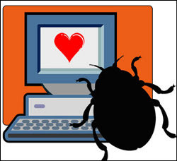 bug of valentines day striking at your pc