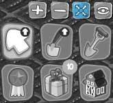 Botão Fullscreen da Mini Fazenda