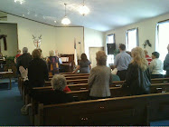 Worship at our church LAG