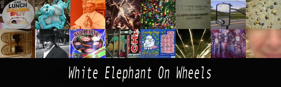 White Elephant On Wheels