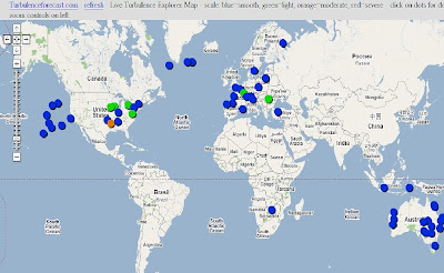 Aviation Troubleshooting TAM Clear Air Turbulence New - Air turbulence map