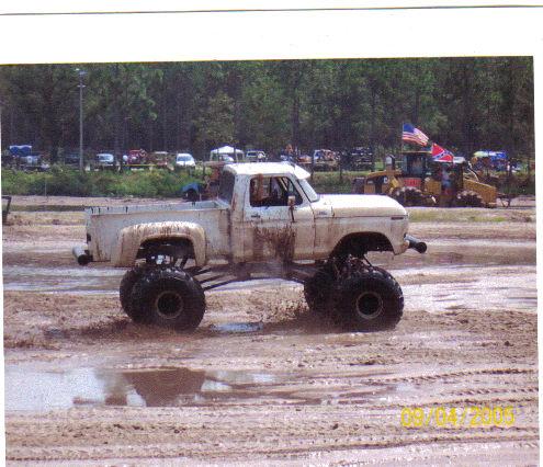 CASPER mudbogging