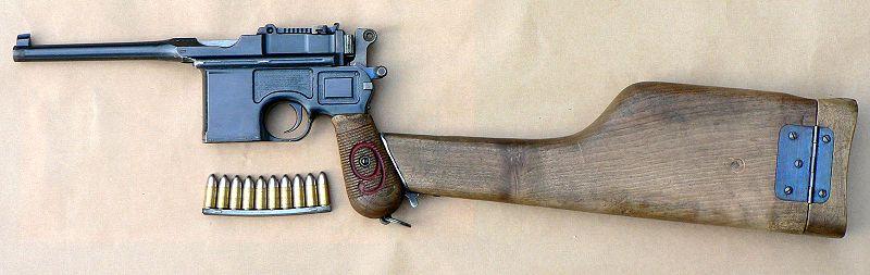 800px Mauser C96 M1916 Red 9 7 - �ss�z adaya d��seniz yan�n�za alaca��n�z ilk 3 �ey nedir