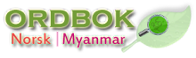 Norwegian to Myanmar Dictionary