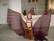 Almudena con alas...