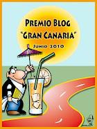 PREMIO BLOG GRAN CANARIA JUNIO 2010