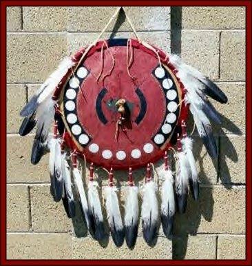 Miniaturas ind genas escudos v rios for Cheyenne tribe arts and crafts