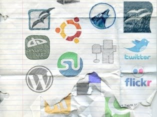 bloggermint | 10+ Creative social bookmark icons
