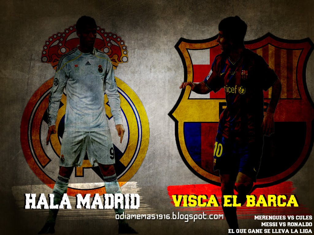 barcelona y real madrid (la historia)