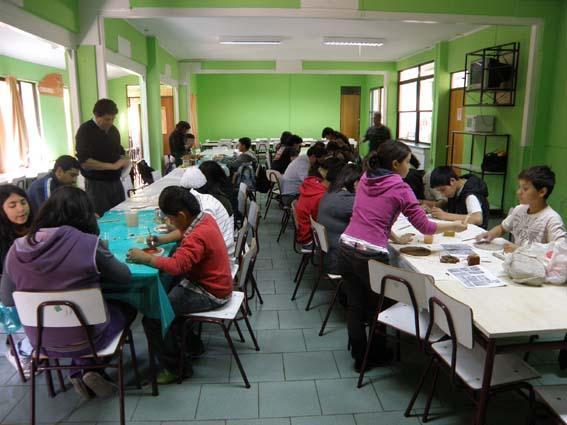 Una jornada de trabajo el Viernes por la tarde, Colegio Buen Pastor