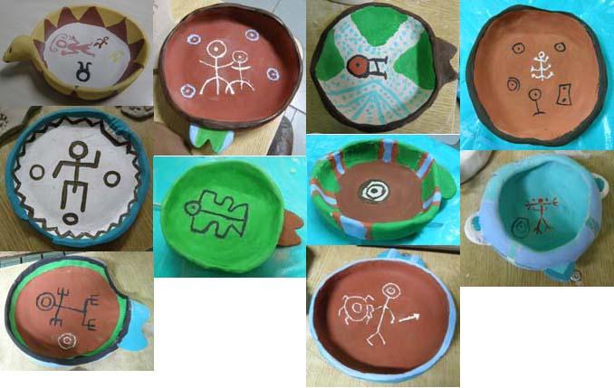 Algunos diseños de vasijas