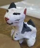 Gatito en cerámica