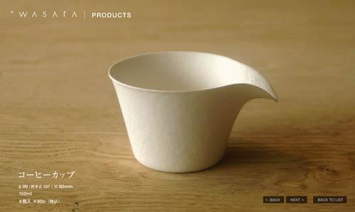 Одноразовая посуда WASARA