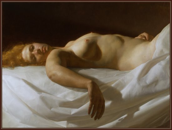 collins Reclining jacob nude by