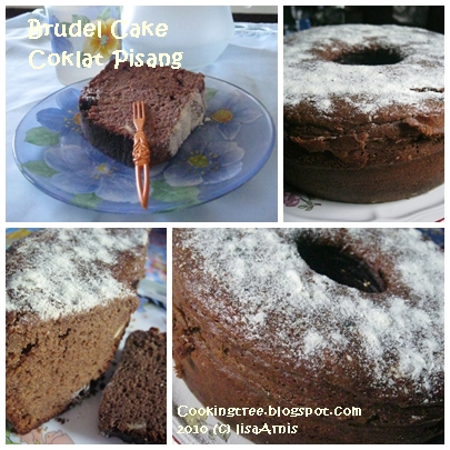 Kitchen and the stories: Brudel Pisang coklat
